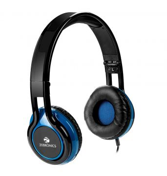 ZEBRONICS HEADPHONE W/MIC BUZZ