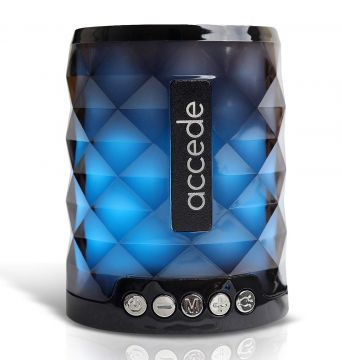 ACCEDE Boom-X Bluetooth Speaker Wireless Portable Speaker with Vibrant Lightshow