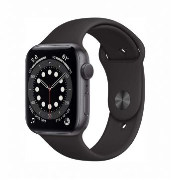 Apple Watch SE (GPS, 40mm) - Space Grey Aluminium Case with Black Sport Band