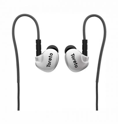 Toreto Stereo Wireless Bluetooth Earphone with Mic+Black- TOR 264 Thrill-2