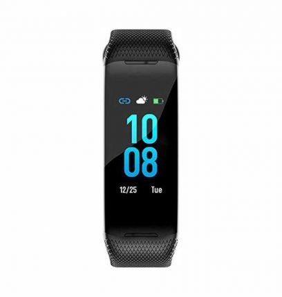 Oraimo OFB-20 HD Color Screen Heart Rate Monitor Pedometer Fitness Band  (Black)