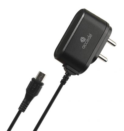 ACCEDE CHAMP PRO 1AMP MICRO TRAVEL CHARGER
