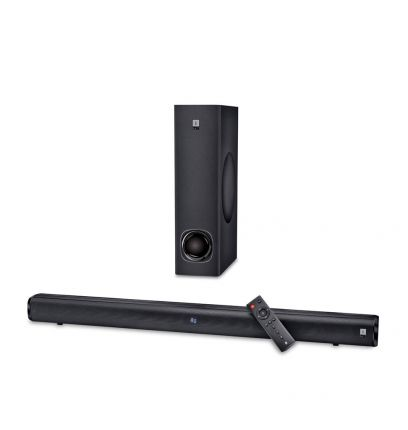 iBall Cinebar 100-2.1 Channel Sound Bar with Wired Sub Woofer